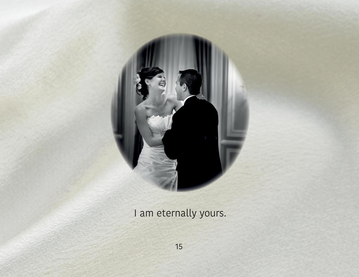 I am eternally yours. 15