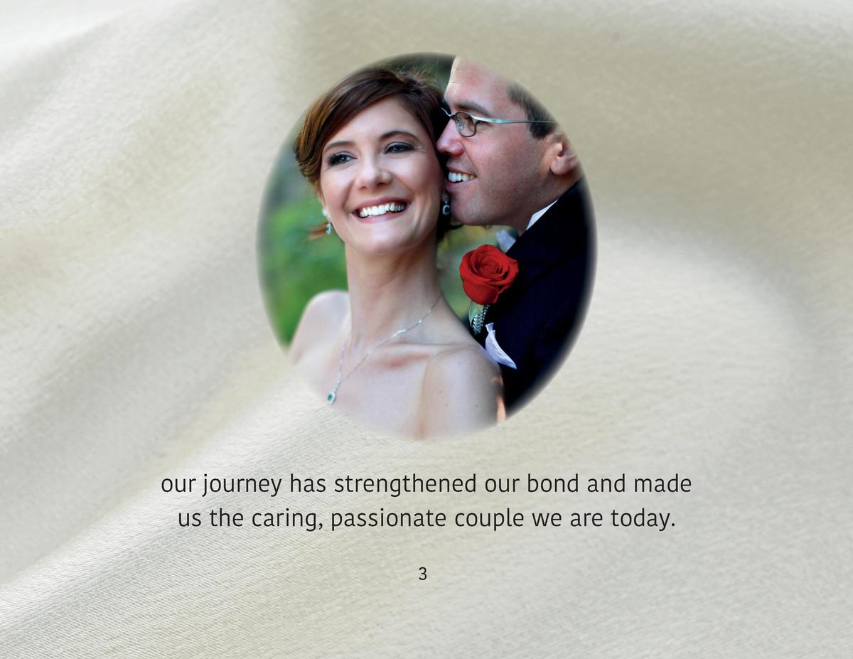 our journey has strengthened our bond and made us the caring, passionate couple we are today. 3