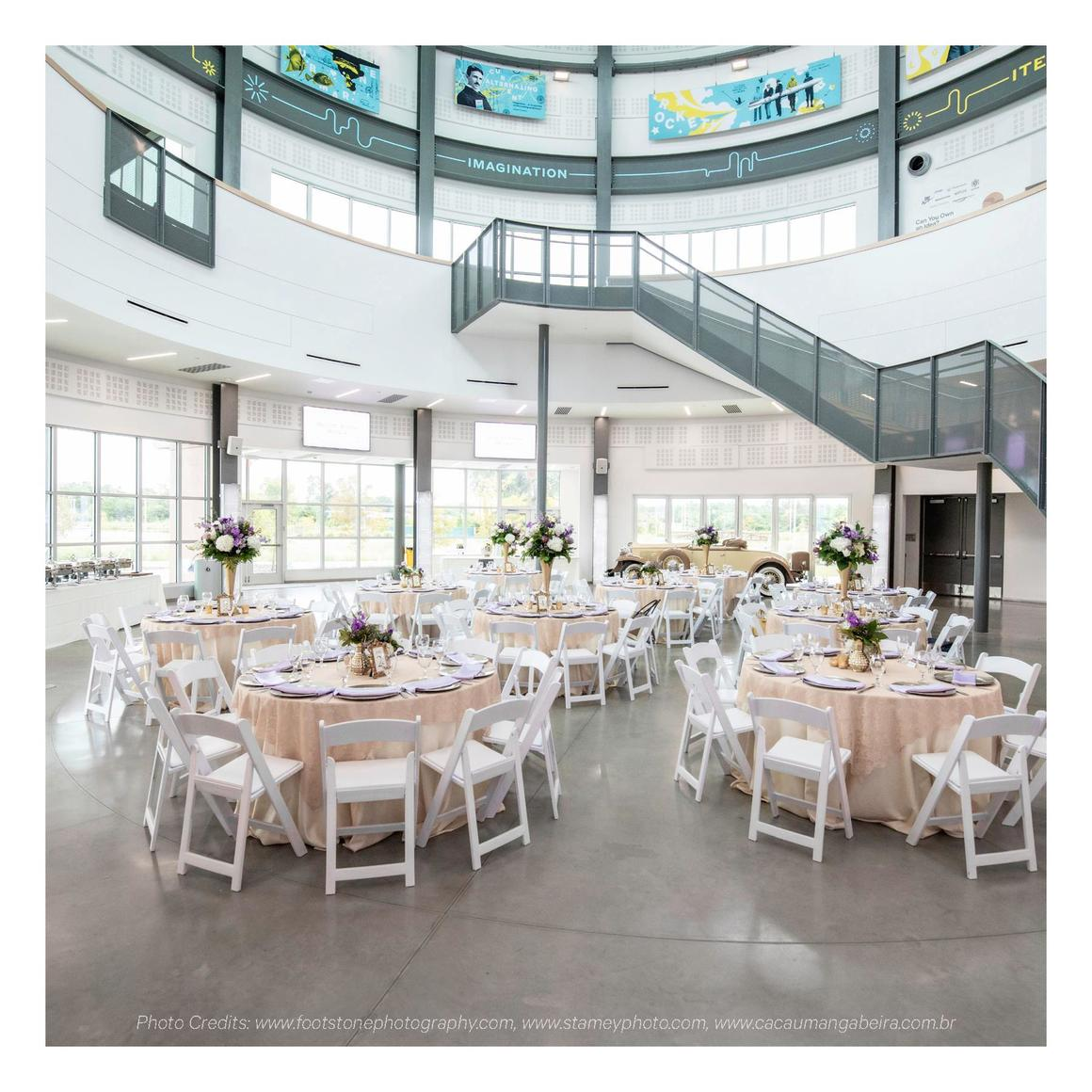 Cade Museum W E D D I N G R E N TA L S Create Your Dream Wedding at The Cade Museum. With breathtaking modern architecture...