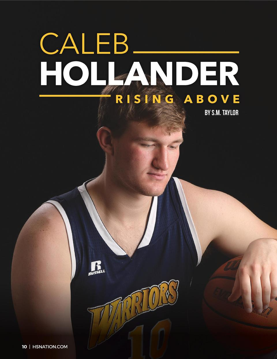 CALEB  HOLLANDER  RISING ABOVE BY S.M. TAYLOR  10   HSNATION.COM