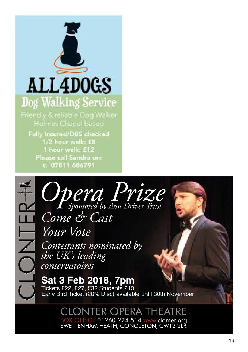 Opera Prize Sponsored by Ann Driver Trust  Come   Cast Your Vote  Contestants nominated by the UK   s leading conservatoir...