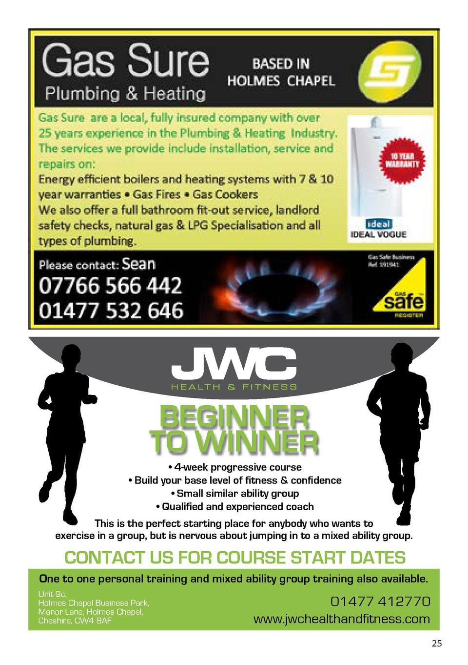 BEGINNER TO WINNER     4-week progressive course     Build your base level of fitness   confidence     Small similar abili...