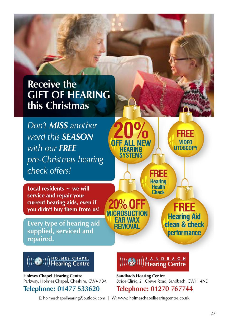 Receive the GIFT OF HEARING this Christmas  20   Don   t MISS another FREE word this SEASON VIDEO OFF ALL NEW OTOSCOPY wit...