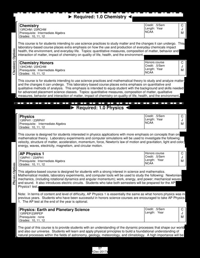 2018-19 High School Registration : simplebooklet com