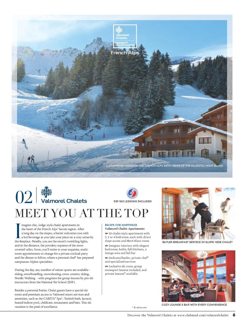 French Alps  A CHARMING CHALET IN THE FRENCH ALPS WITH VIEWS OF THE MAJESTIC MONT BLANC  02  Valmorel Chalets  ESF SKI LES...
