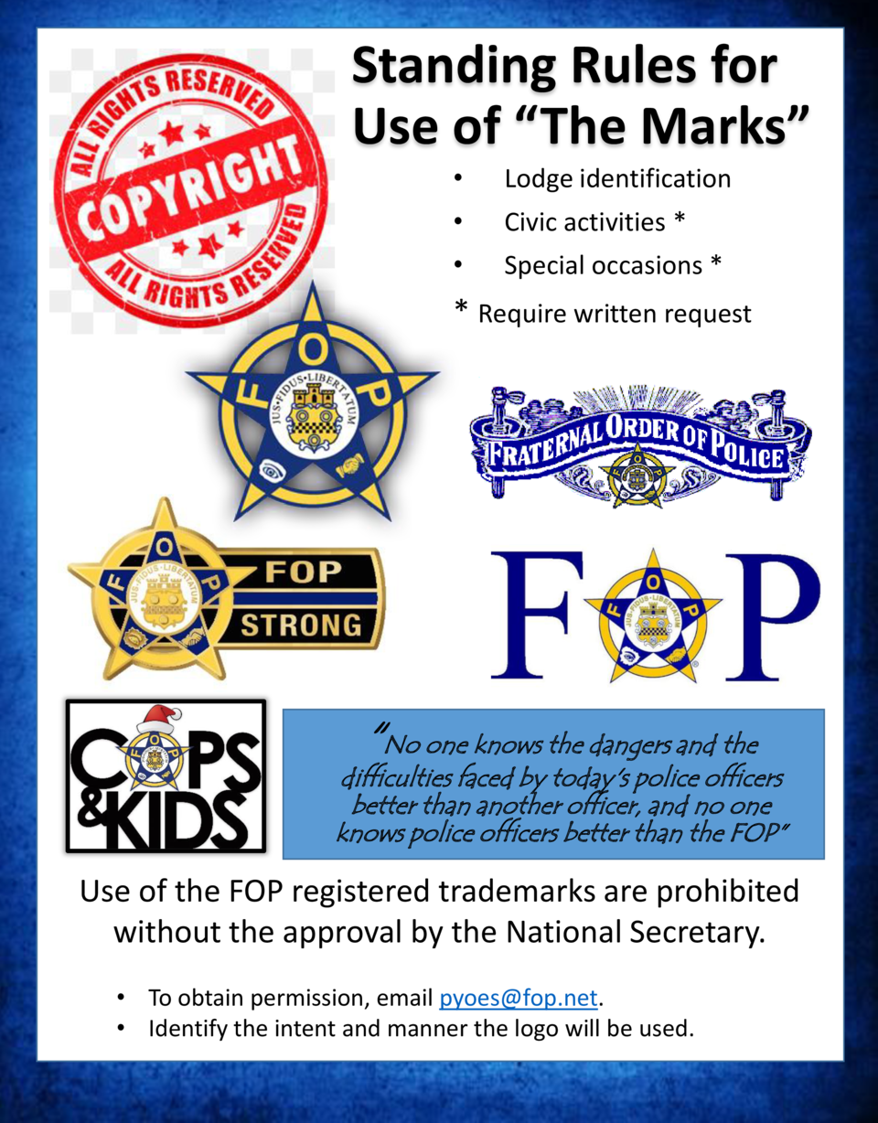 Standing Rules for Use of    The Marks         Lodge identification       Civic activities         Special occasions      ...