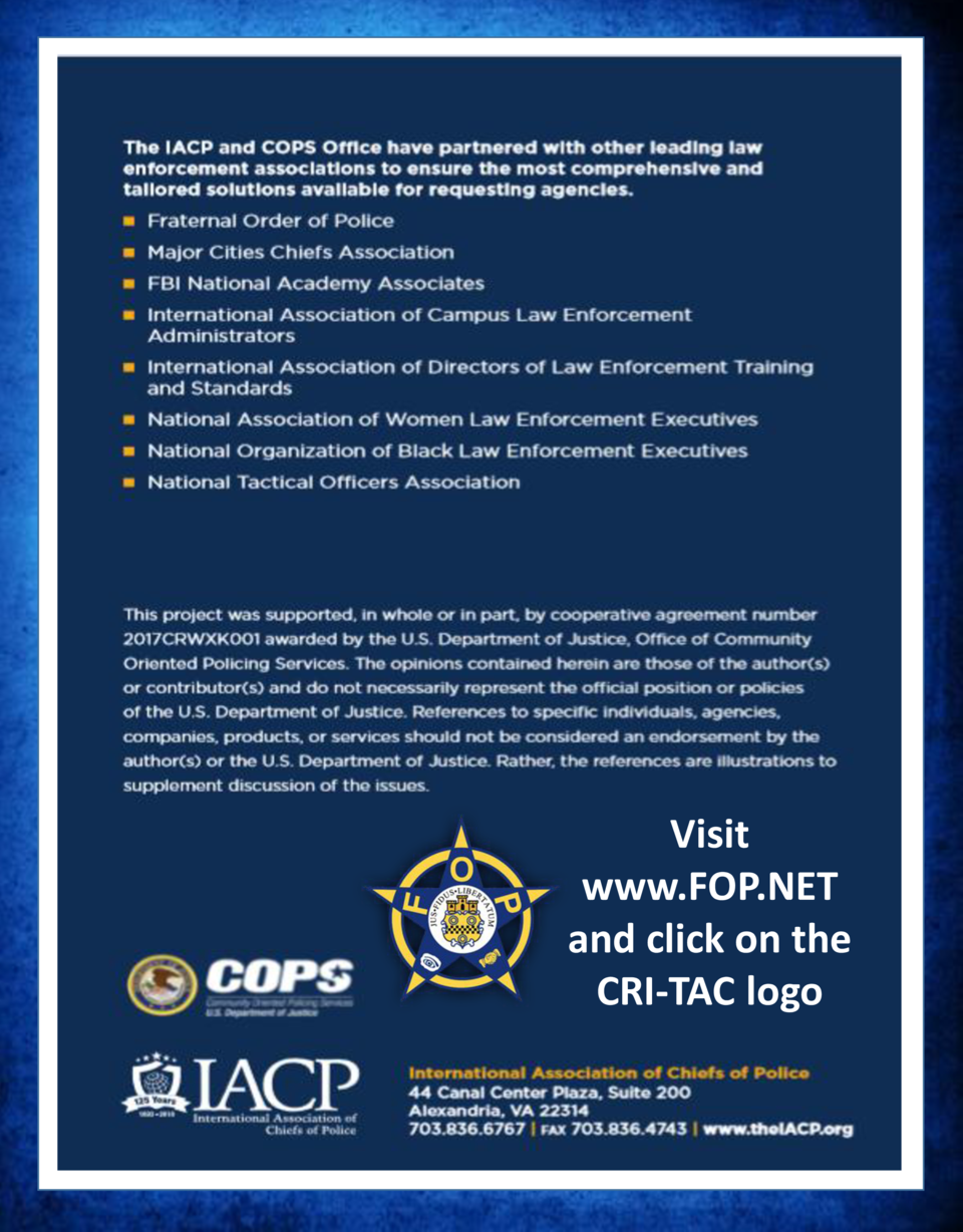 Visit www.FOP.NET and click on the CRI-TAC logo