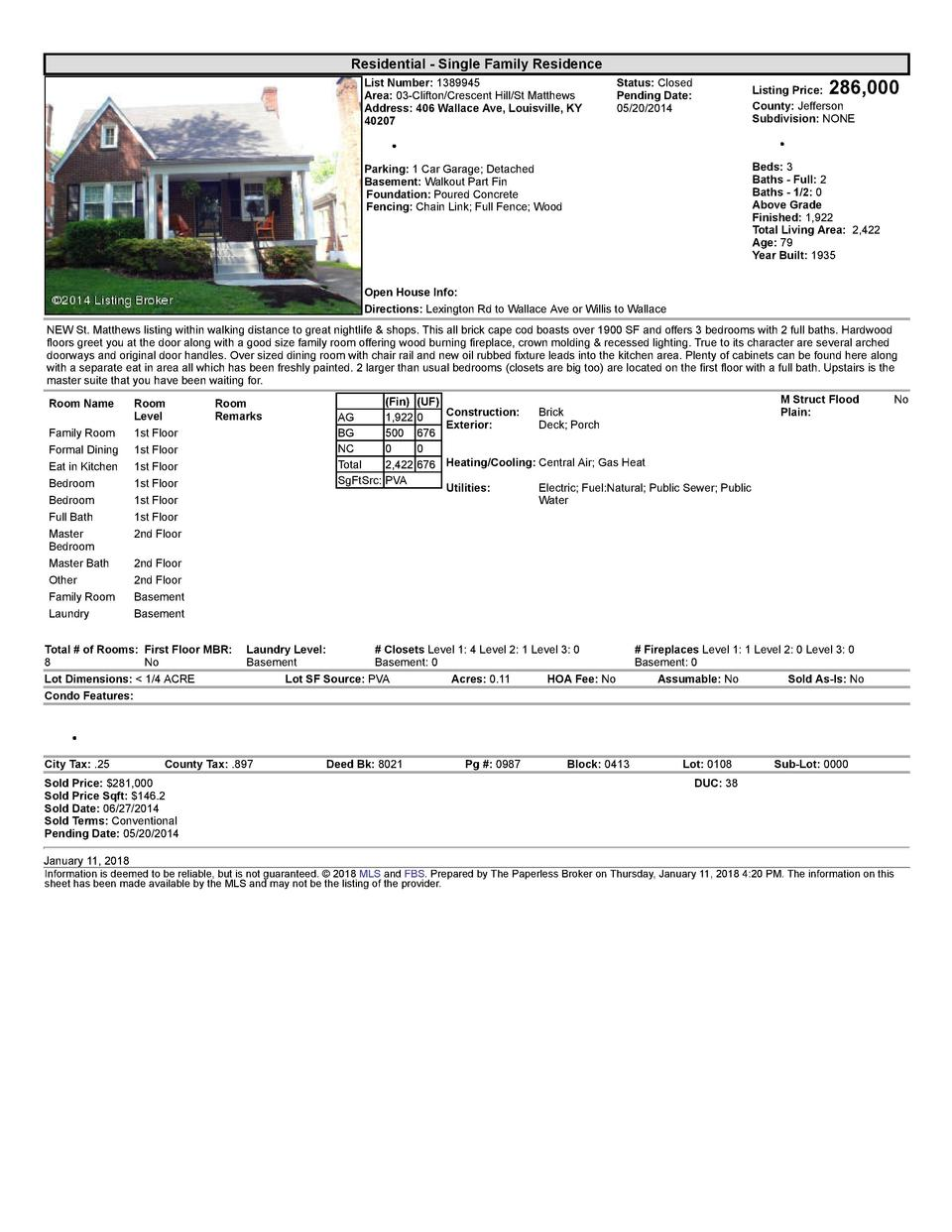 Homes We Ve Sold Parker Klein Real Estate