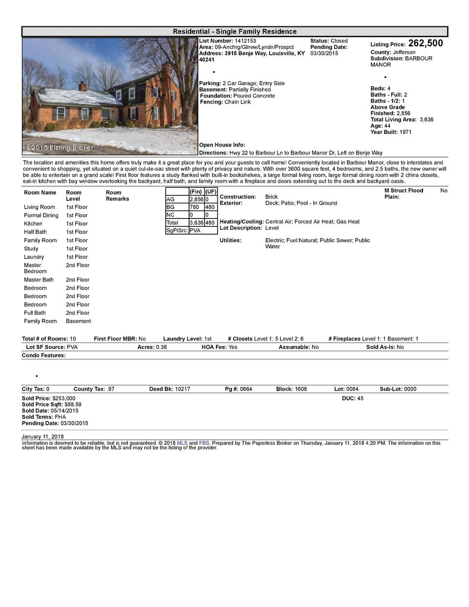 Residential      Single  Family  Residence    262,500  List  Number   1412153    Status   Closed Area   09  Anchrg Glnv...
