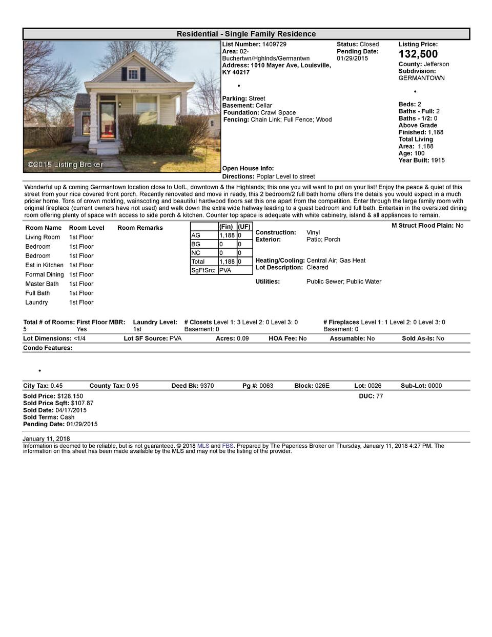 Residential      Single  Family  Residence List  Number   1409729    Status   Closed Area   02   Pending  Date  Buchert...