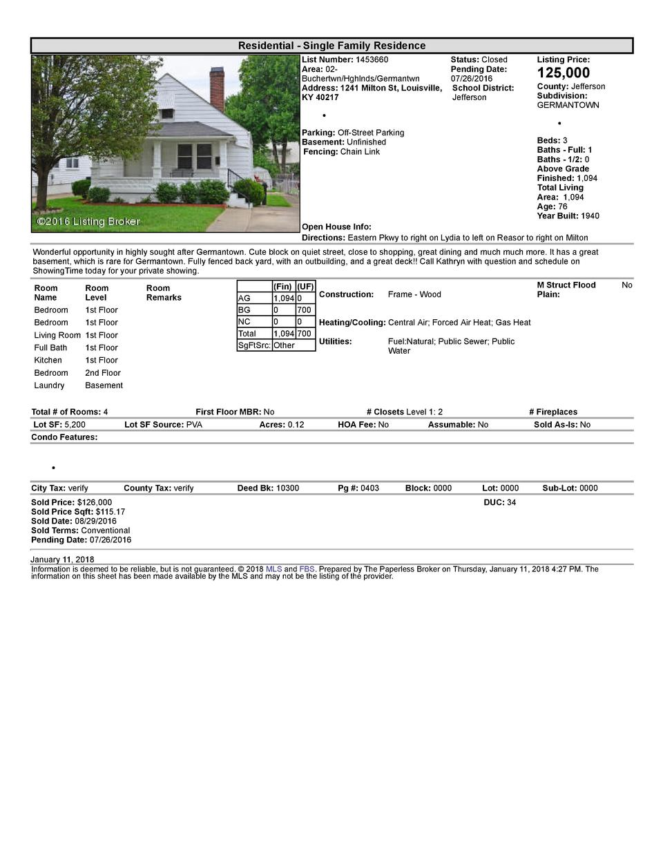 Residential      Single  Family  Residence List  Number   1453660    Status   Closed Area   02   Pending  Date  Buchert...