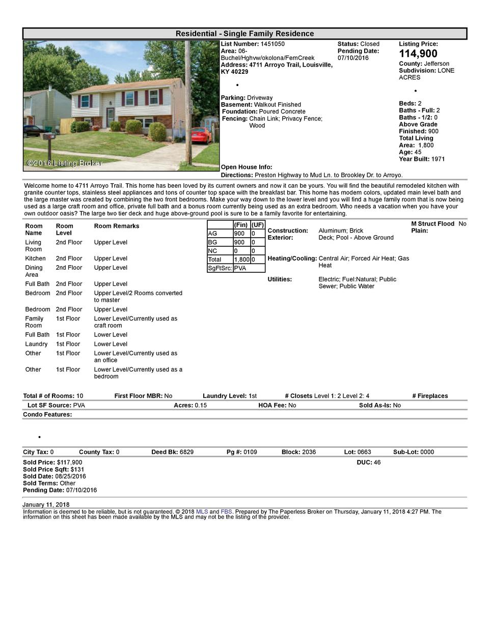 Residential      Single  Family  Residence List  Number   1451050    Status   Closed Area   06   Pending  Date  Buchel ...