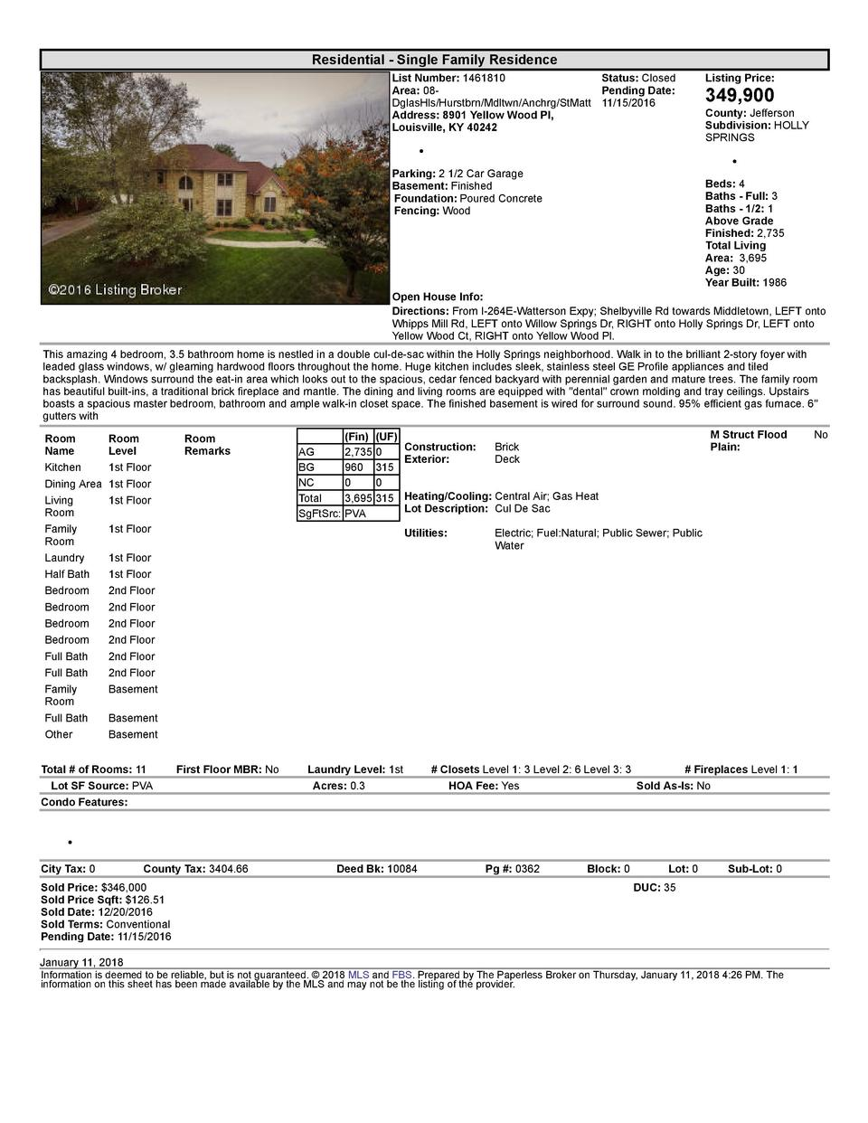 Residential      Single  Family  Residence List  Number   1461810    Status   Closed Area   08   Pending  Date  DglasHl...