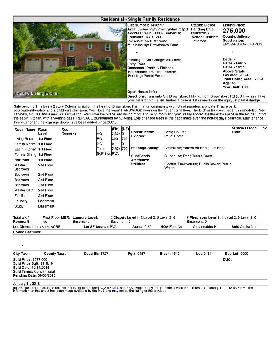 Residential      Single  Family  Residence List  Number   1456997    Status   Closed Listing  Price  Area   09  Anchrg ...