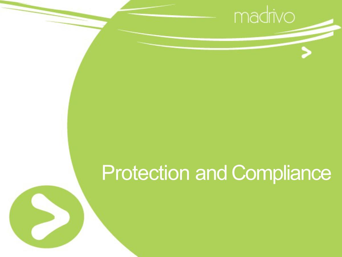 Protection and Compliance