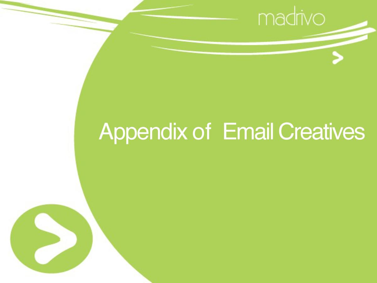 Appendix of Email Creatives