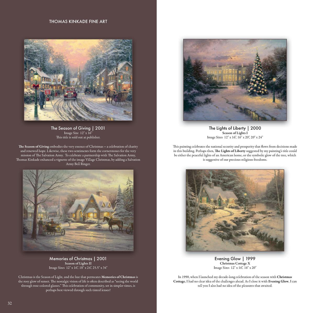 Thomas Kinkade Studios Fine Art Collection