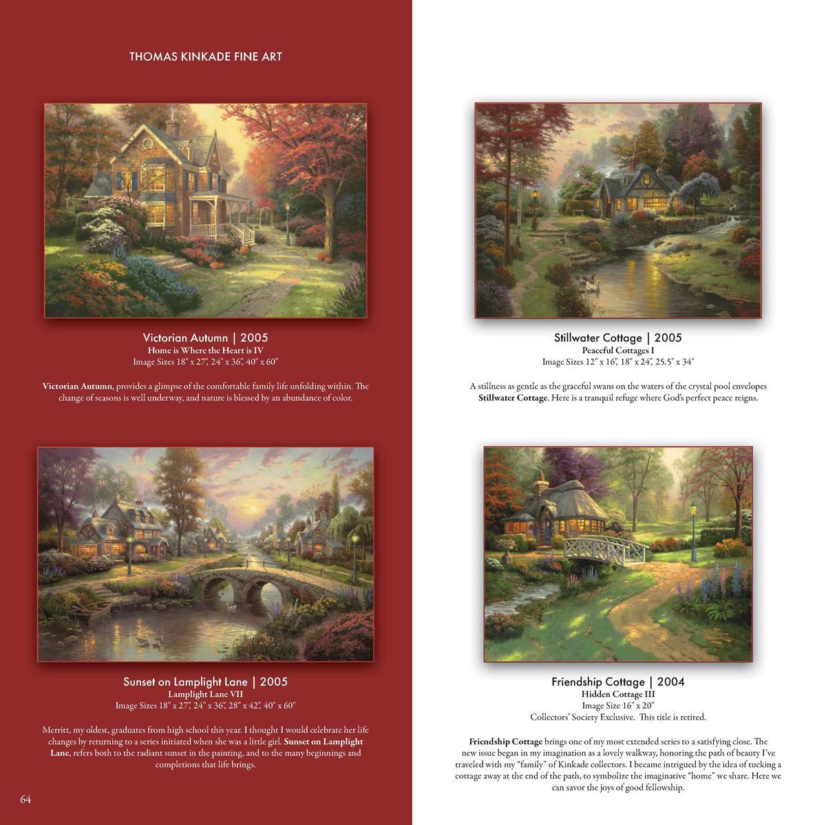Antyki i Sztuka Kinkade Main Street USA Walt Disney World Resort 18 x 27  S/N LE Paper Druki artystyczne hshdnet.com