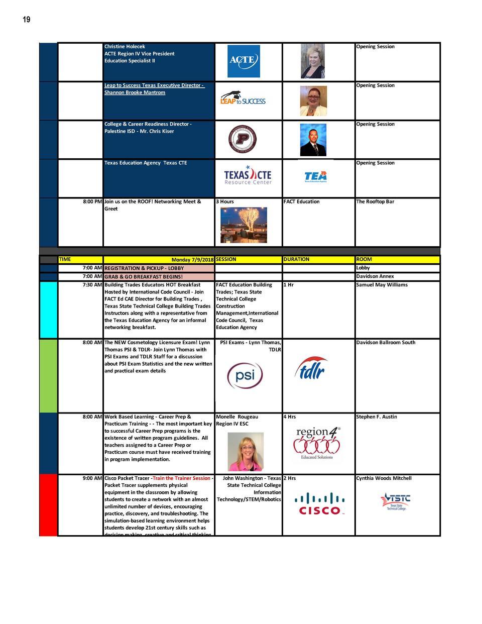I3CTE 18 Agenda Simplebooklet