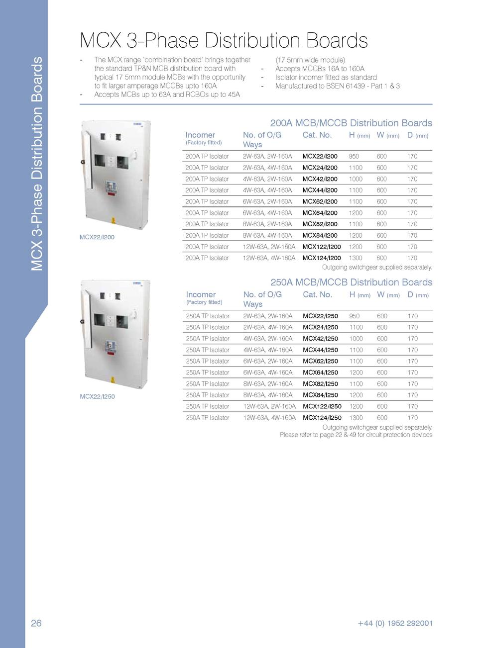 Imd Catalogue Threephase Dual Voltage Motor Wiring Middle Tn Rses Mcx 3 Phase Distribution Boards