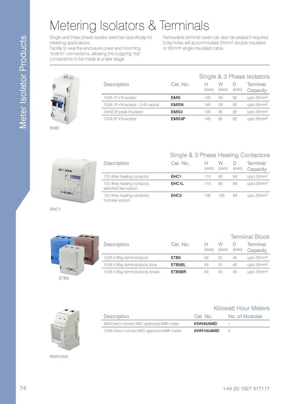 Catalogue Installation Materials Division The Only Option I Have For Coil Splitting With 2pole 5way Switch Meter Isolator Products Metering Isolators Terminals Single And Three Phase Switches Specifically