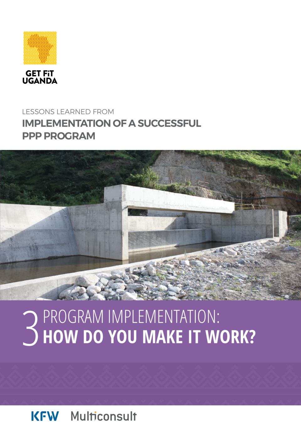 Lessons learned from  implementation of a successful PPP program  3  Program implementation  How do you make it work
