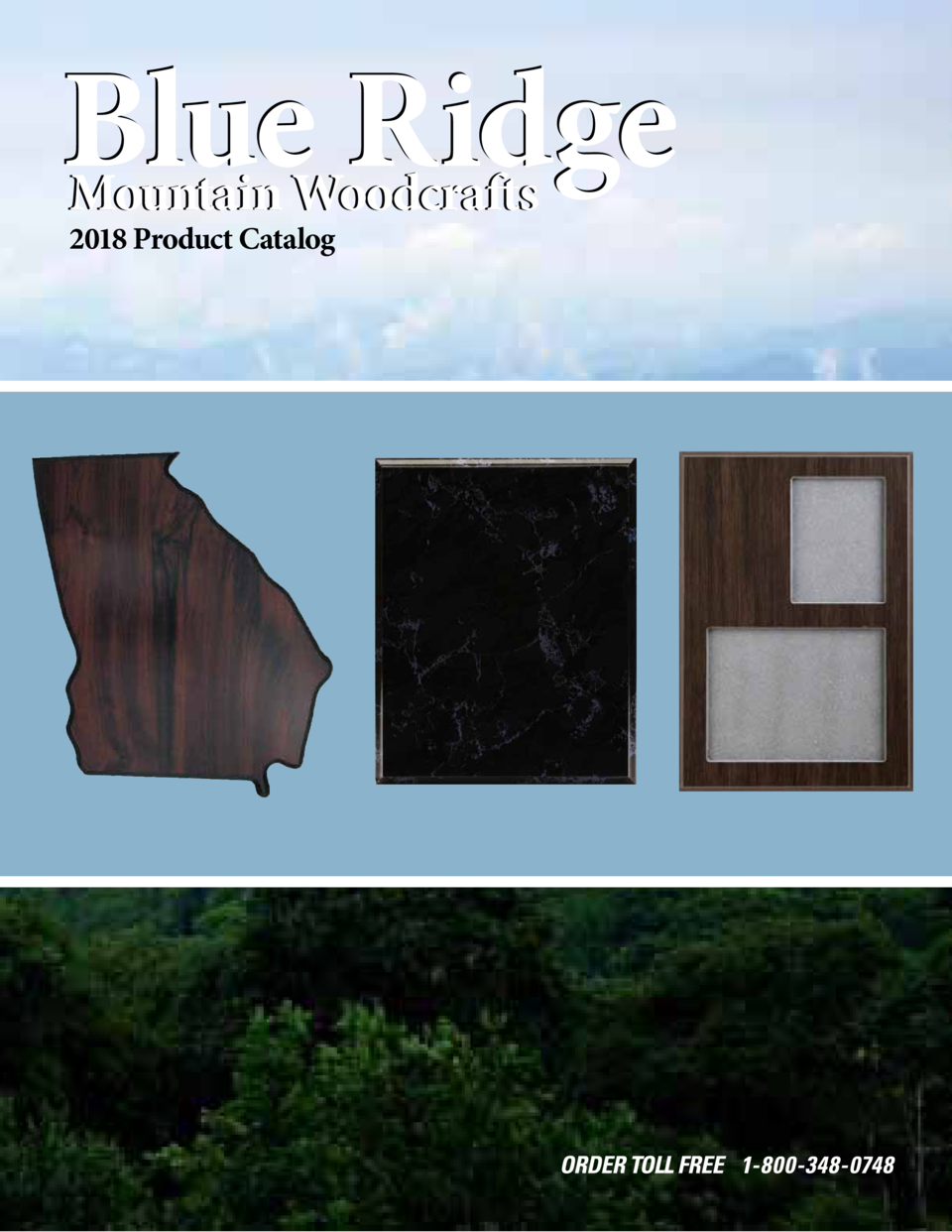 Blue Ridge 2018 Product Catalog