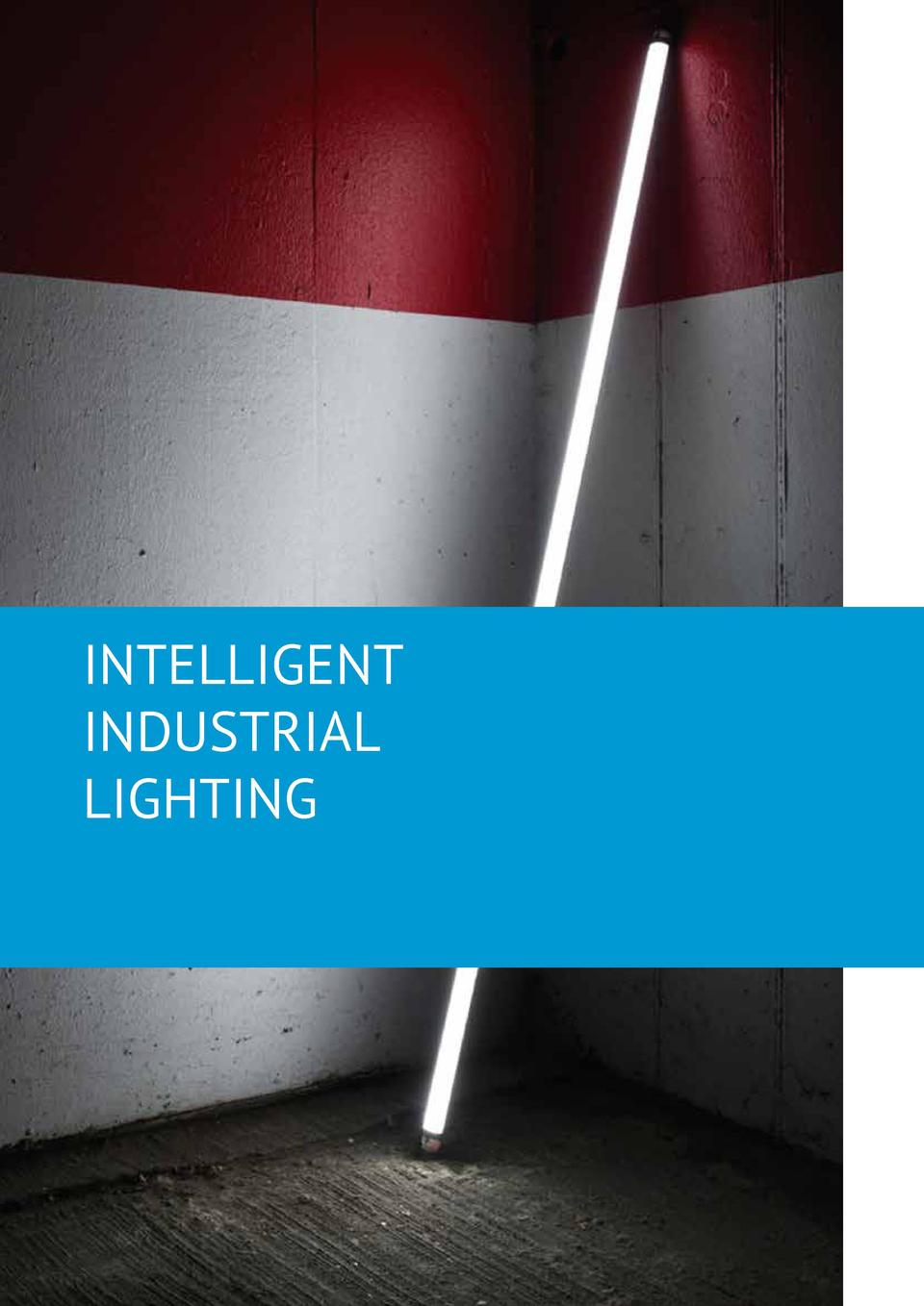 INTELLIGENT INDUSTRIAL LIGHTING