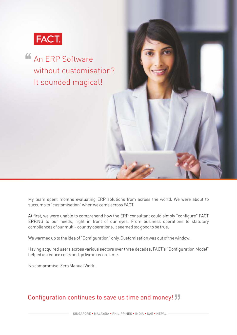 An ERP Software without customisation  It sounded magical   My team spent months evaluating ERP solutions from across the ...