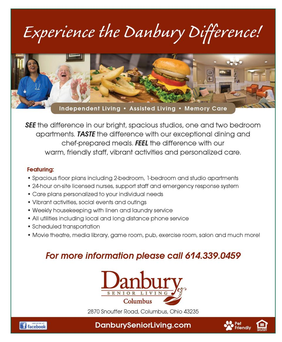 Experience the Danbury Difference   Independent Living     Assisted Living     Memory Care  SEE the difference in our brig...