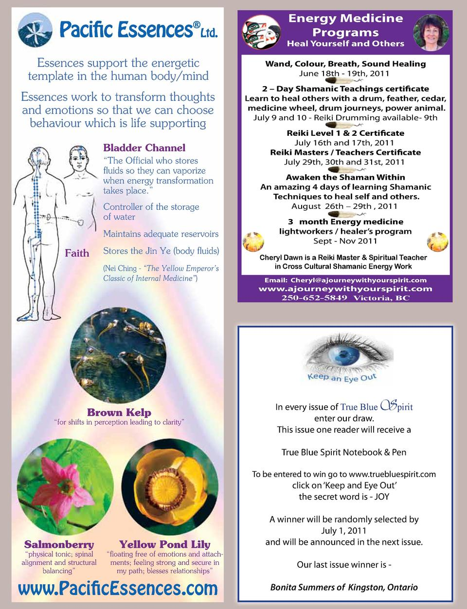 Paciic Essences      Ltd.  Essences support the energetic template in the human body mind Essences work to transform thoug...