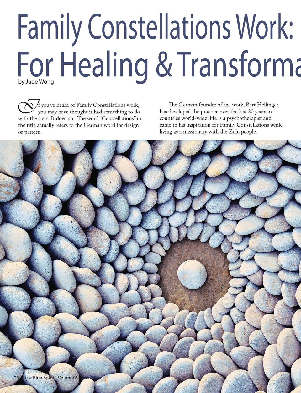 Family Constellations Work  For Healing   Transforma by Jude Wong  I  f you   ve heard of Family Constellations work, you ...