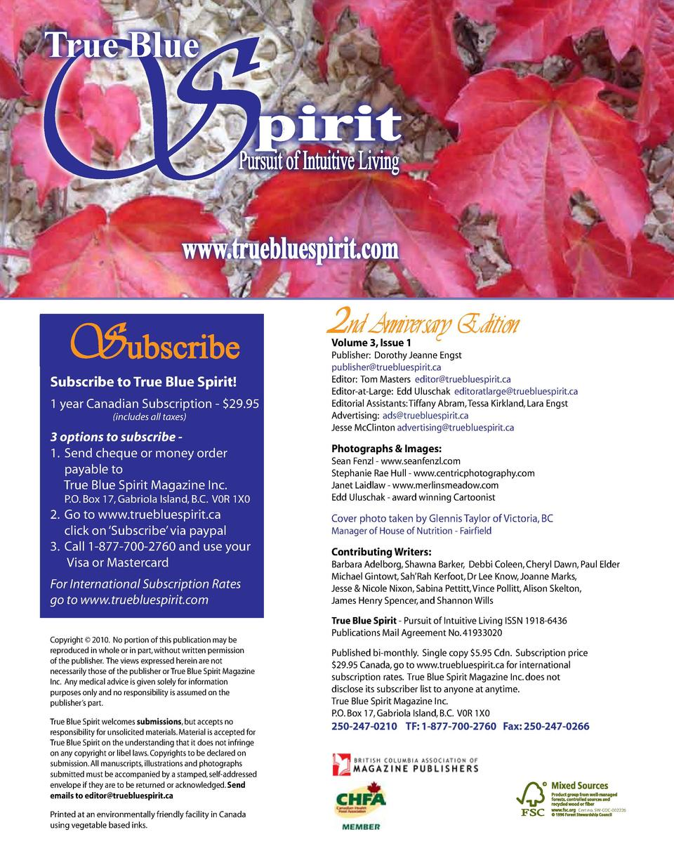 S True Blue  pirit  Pursuit of Intuitive Living  www.truebluespirit.com  Subscribe  Subscribe to True Blue Spirit   1 year...
