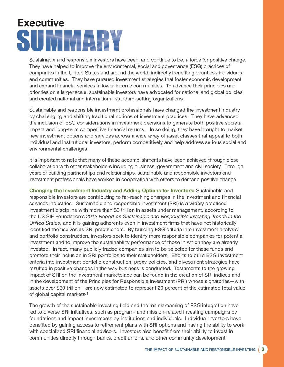 The Impact of Sustainable and Re : simplebooklet com