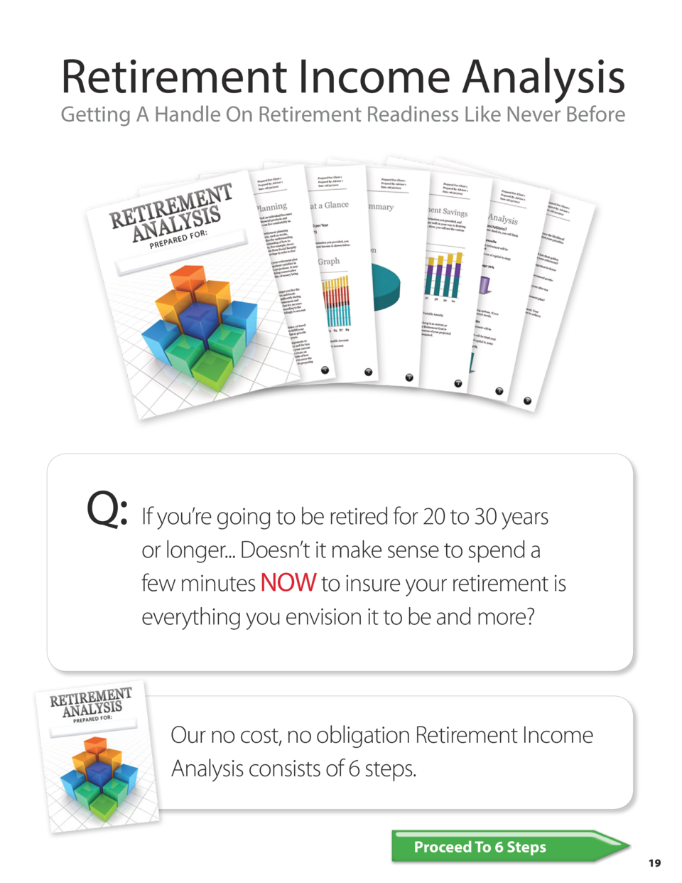 Retirement Income Analysis Getting A Handle On Retirement Readiness Like Never Before  Q     If you   re going to be retir...