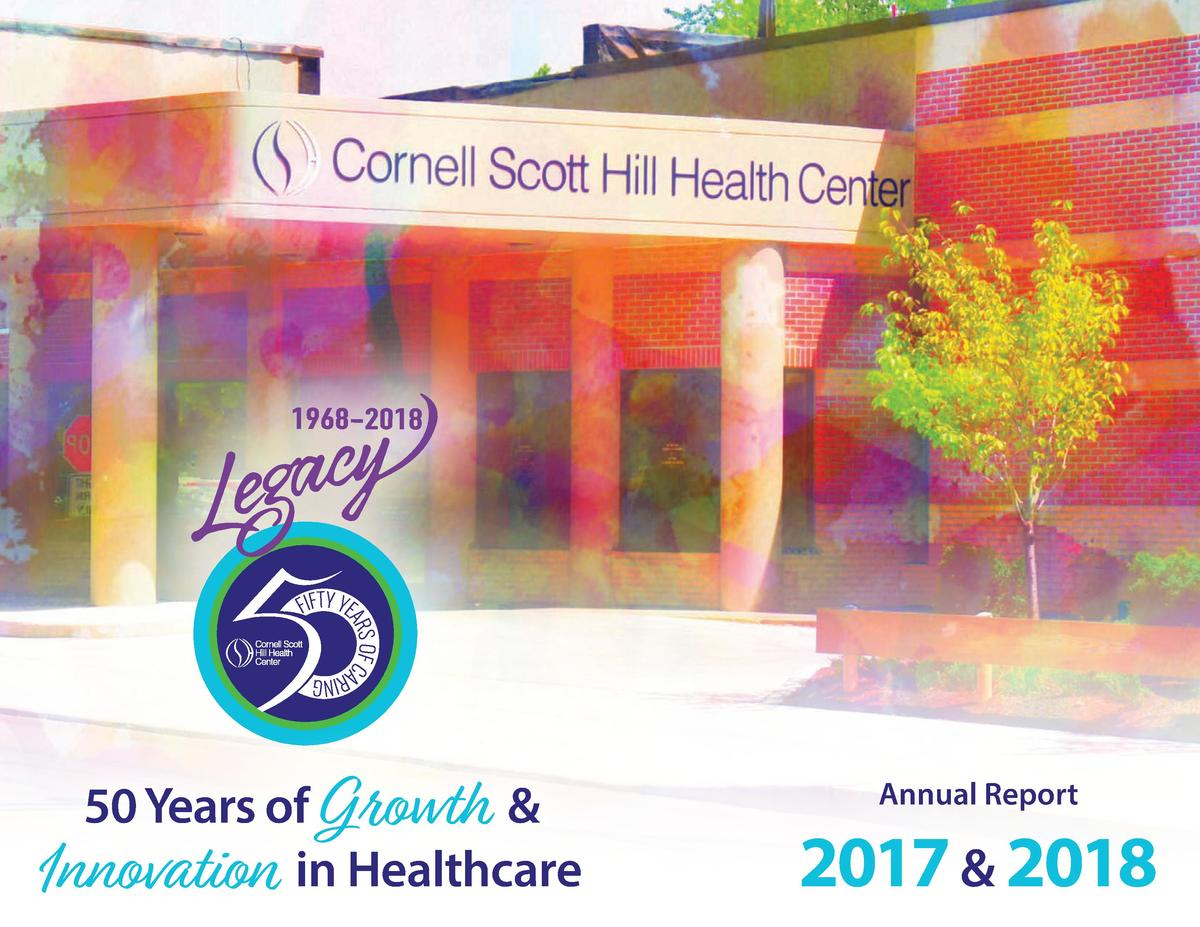 50 Years of Growth   Innovation in Healthcare  Annual Report  2017   2018