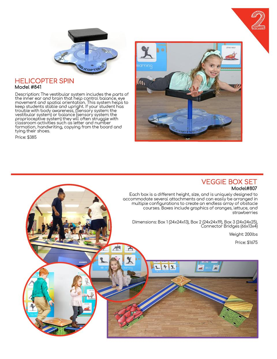 ERGO SPIN DESKS  Let   s twist and shout  The smooth spinning of the seat pad allows the student to achieve a  VARIETY DES...
