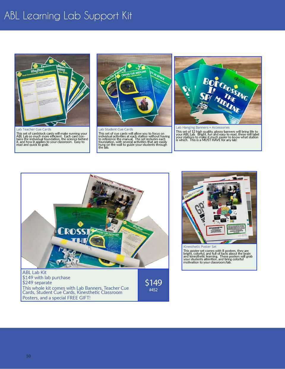 ABL Learning Lab Support Kit  Lab Teacher Cue Cards This set of cardstock cards will make running your ABL Lab so much mor...
