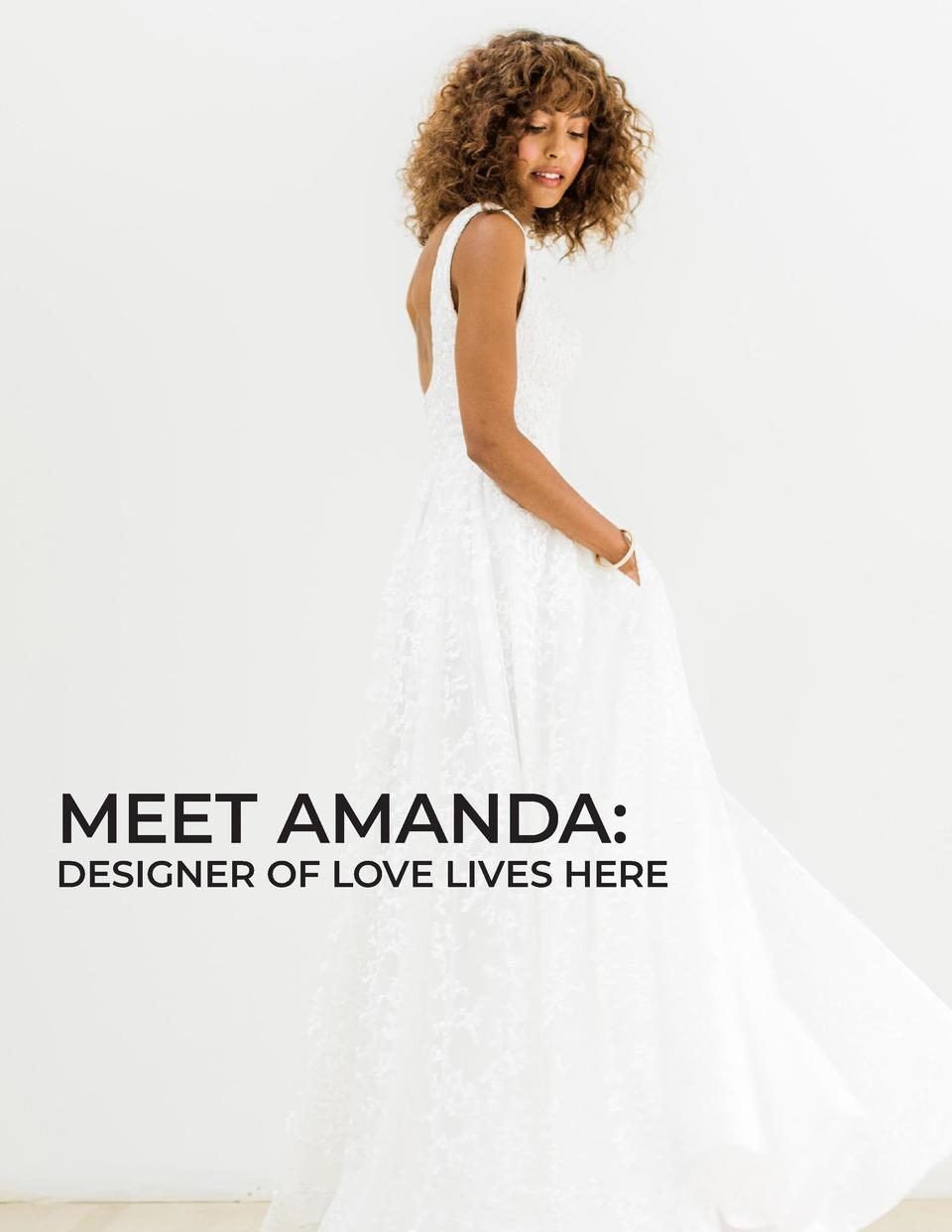 MEET AMANDA   DESIGNER OF LOVE LIVES HERE