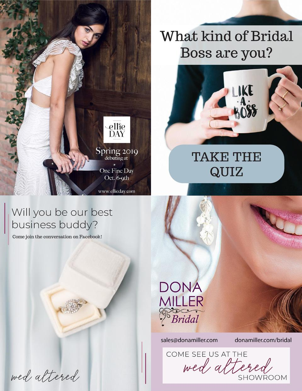 What kind of Bridal Boss are you   TAKE THE QUIZ Will you be our best business buddy  Come join the conversation on Facebo...