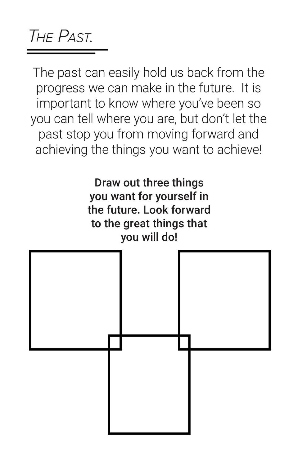 The Past. The past can easily hold us back from the progress we can make in the future.  It is important to know where you...