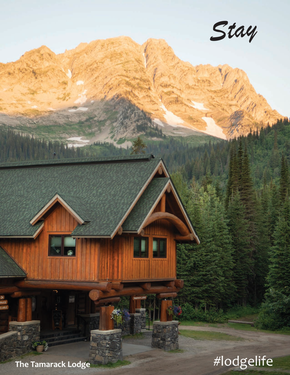 Stay  The Tamarack Lodge   lodgelife