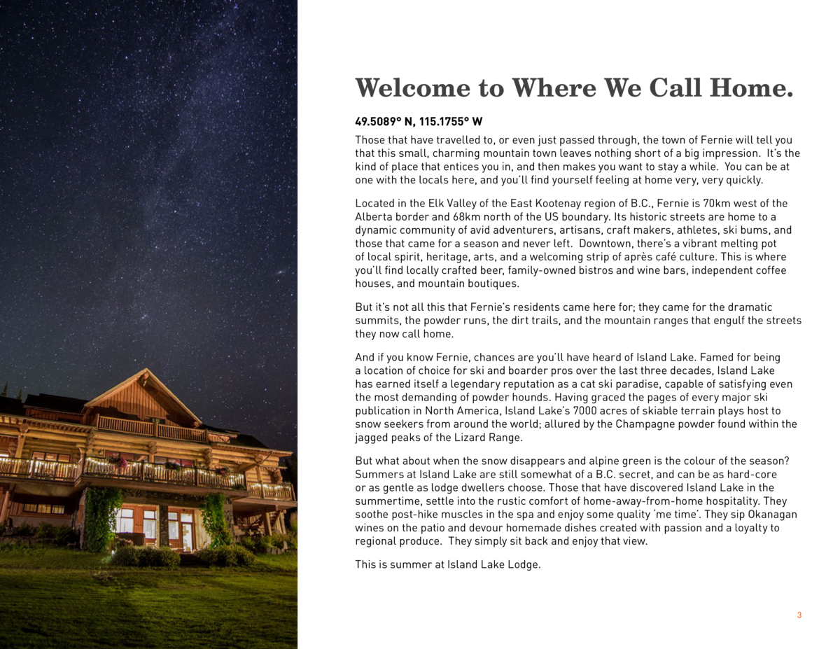 Welcome to Where We Call Home. 49.5089   N, 115.1755   W Those that have travelled to, or even just passed through, the to...