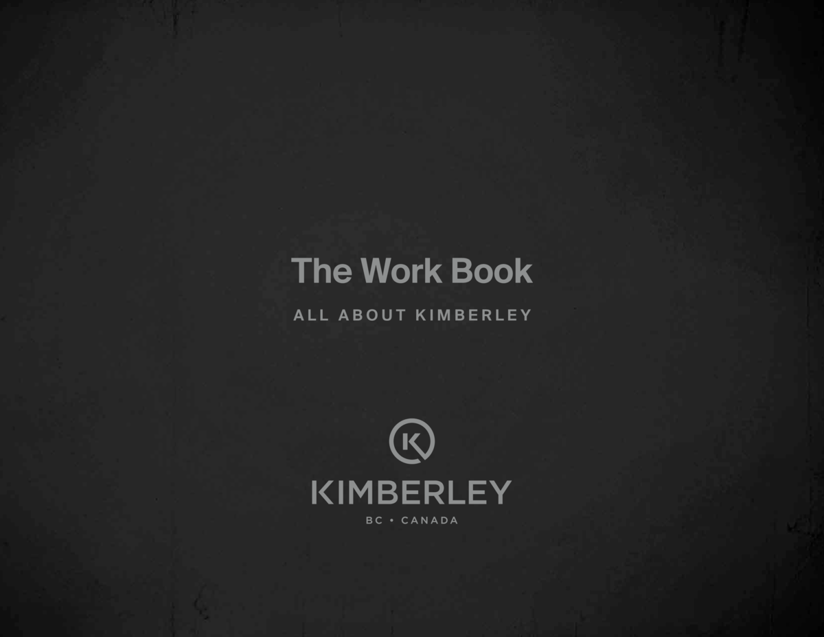 The Work Book All About Kimberley