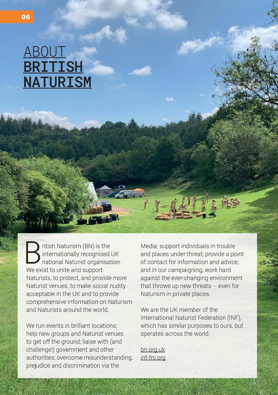 BN Guide to Naturism