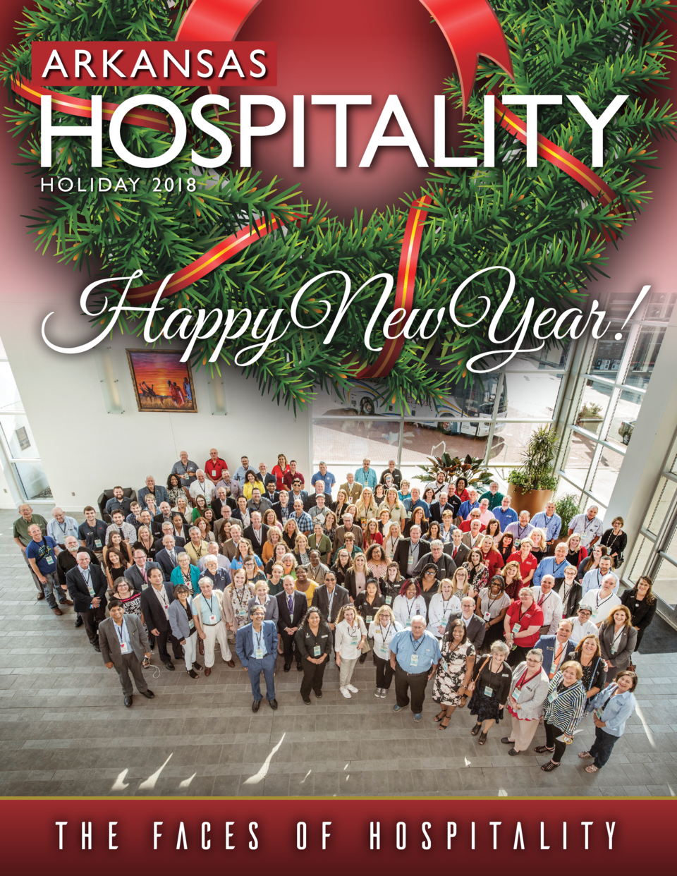 H O L I DAY 2 018  THE FACES OF HOSPITALITY