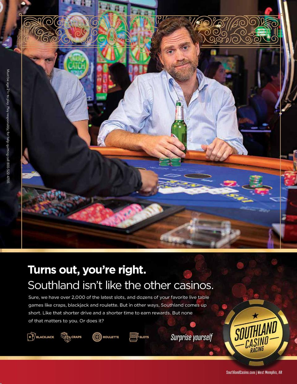 Must Must be age be age 21 21  to play. to play. PlayPlay responsibly  responsibly  for help for help quitting quitting ca...