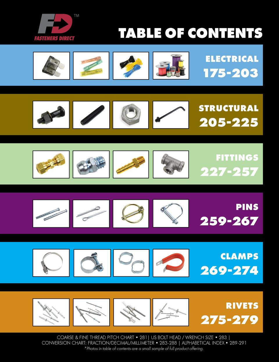 Fasteners Direct Product Catalog : simplebooklet com