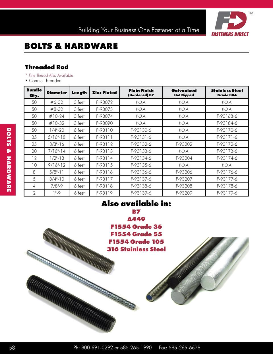 10//Bulk Pkg. Ft Coarse Cup Point 1 1//8 Inch-7X9 Inch Case Hardened Square Head Set Screw