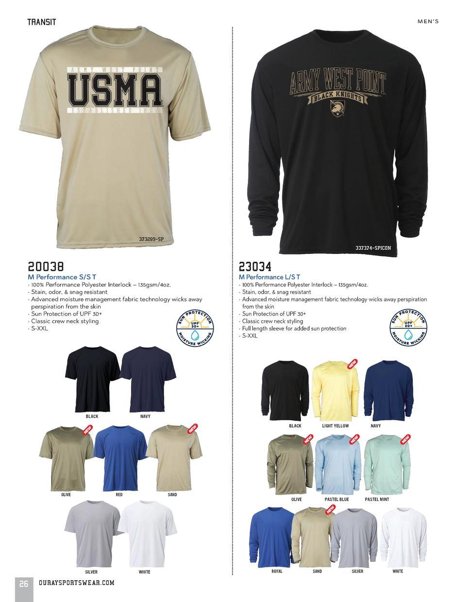Ouray Sportswear NCAA Erwachsene Herren Vintage Sheer S//S T